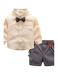 Baby Boys' Daily Striped Clothing Set