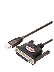 economico -Unitek USB 2.0 Adattatore, USB 2.0 to DB25 Adattatore Maschio/femmina 1.5M (5 piedi)