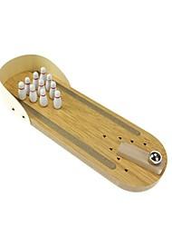 preiswerte -Bowling-Spiel für den Schreibtisch Bälle Bowling-Spielzeug Bowling-Spiele Zum Stress-Abbau Spielzeuge Rechteck Mini Zum Töten der Zeit