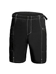 Jaggad Pantalones Acolchados de Ciclismo Hombre Bicicleta Pantalones cortos holgados Prendas de abajo Ciclismo Espándex 100% Poliéster Un