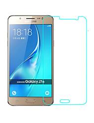preiswerte -Hartglas Displayschutzfolie für Samsung Galaxy J7 Vorderer Bildschirmschutz High Definition (HD) 9H Härtegrad 2.5D abgerundete Ecken