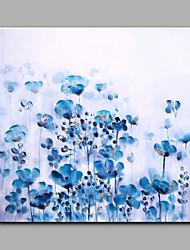 Dipinta a mano Floreale/Botanical Modern Un Pannello Tela Hang-Dipinto ad olio For Decorazioni per la casa