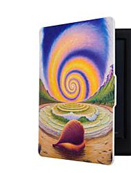 Недорогие -смарт напечатанный защитный чехол кожаный чехол для кобо Glo HD (2015) читалка электронных книг случай