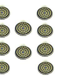 preiswerte -10 Stück 3W 500lm GU10 LED Spot Lampen 48 LED-Perlen SMD 2835 Dekorativ Warmes Weiß Kühles Weiß 12V