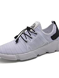 Недорогие -Для мужчин Кеды Удобная обувь Весна Осень Дышащая сетка Для фитнеса Атлетический Повседневные На эластичной ленте На плоской подошве