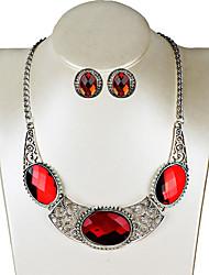 cheap -Women's Stud Earrings Necklace Rhinestone Bohemian Fashion Party Birthday Engagement Gift Bikini Alloy Geometric