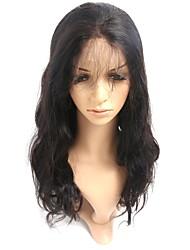 Недорогие -Горячие 360 кружевных лобных человеческих волос кружевные парики 150% плотность тела волна волос 8 '' - 22 '' 360 париков шнурка с