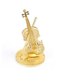 Недорогие -Металлические пазлы Игрушки Скрипка 3D Своими руками Сплав Не указано Куски