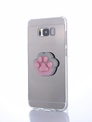 Недорогие -Кейс для Назначение SSamsung Galaxy S8 Plus S8 Своими руками болотистый Задняя крышка Животное Твердый Акриловое волокно для S8 Plus S8