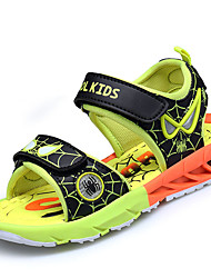 cheap -Boys' Shoes PU Spring Summer Comfort Gladiator Light Soles Sandals Magic Tape For Casual Outdoor Red Black/Yellow Royal Blue