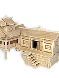 Kit de Bricolage Puzzles 3D Puzzle Jouets Bâtiment Célèbre Architecture 3D A Faire Soi-Même Unisexe Pièces