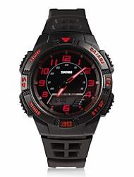 abordables -Montre Smart Watch Etanche Longue Veille Multifonction Sportif Chronomètre Fonction réveille Chronographe Calendrier Double Fuseaux