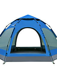 LINGNIU® 5-8 persone Tenda Doppio Tenda da campeggio Una camera Tenda automatica Ompermeabile Tenere al caldo Antivento Anti-pioggia per