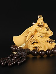 cheap -DIY Automotive  Ornaments God of Wealth Blessing Guan Yu Car Pendant & Ornaments Resin