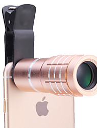 cheap -Universal 10× Telescope Lens for Mobile Phones iphone/samsung Silver/Gold/Rose/Black