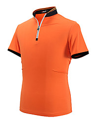 cheap -Men's Short Sleeve Golf POLO Shirt Tops Anti-wrinkle Breathable Comfortable Golf