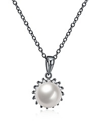 cheap -Women's Pearl Pendant Necklace  -  Pearl Personalized, Luxury, Tassel White Necklace For Party, Graduation, Daily