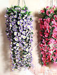 Недорогие -1 Филиал Пластик Другое Цветы на стену Искусственные Цветы