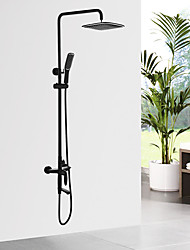 cheap -Traditional/Vintage Shower System Ceramic Valve Oil-rubbed Bronze , Shower Faucet