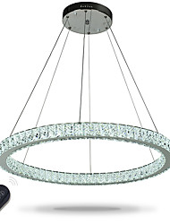 cheap -Chic & Modern Chandelier Ambient Light - Crystal / Adjustable / Dimmable, 110-120V / 220-240V, Dimmable With Remote Control, LED Light