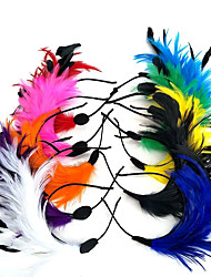 cheap -Feather Headbands Fascinators Headpiece with Feathers / Fur 1pc Wedding Special Occasion Headpiece