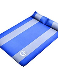 Inflated Mat Portable Foldable Moistureproof Compact Stretchy Travel Rest Water proof material Terylene PVC for Camping Camping / Hiking