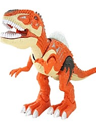cheap -Animals Action Figure Light Up Toy Model Building Kit Tyrannosaurus Dinosaur Lighting Walking Electric Plastics Kid's Teen Boys' Girls' Toy Gift 1 pcs