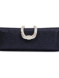 preiswerte -Damen Taschen Polyester Abendtasche Strass für Hochzeit Veranstaltung / Fest Formal Ganzjährig Gold Schwarz Silber Rote