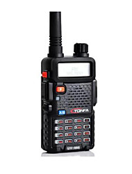cheap -Walkie Talkie Handheld Low Battery Warning / Emergency Alarm / PC Software Programmable 1800mAh 8W Walkie Talkie Two Way Radio