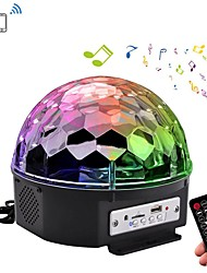 YouOKLight YK2227 Bluetooth Stage Lights 6 Color 5 Mode RGB LED  Sound Activated Strobe Effect Light with Remote Control MP3 AC 85-265V 1pcs