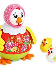 Недорогие -Игрушка с заводом Игрушки Танцы Цыпленок Игрушки Пластик Куски Универсальные Подарок