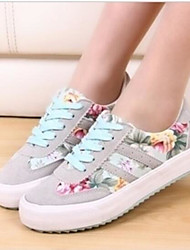 Women's Shoes Tulle Summer Comfort Sneakers For Casual Black Red Blue