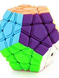 cheap -Rubik's Cube Megaminx Smooth Speed Cube Magic Cube Stress Relievers Educational Toy Puzzle Cube Smooth Sticker Engineering Plastics