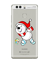 Case for Huawei P8 Lite2017 P10 Cover Transparent Case Christmas Soft TPU for P10 Lite P10 Plus P9 Plus P9 Lite P9 P8 Lite P8 Mate9 Pro Mate9 Mate8
