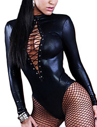 cheap -Women Sexy Lingerie Long Sleeve Bandage Catsuit