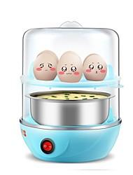 Eierkocher Doppel-Eierstöpsel Kreativ Licht und Bequem Ministil Leichtes Gewicht 2 in 1 Multifunktion 220V