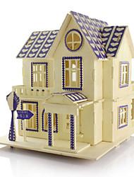 Kit de Bricolage Puzzles 3D Puzzle Jouets Architecture 3D A Faire Soi-Même Simulation Unisexe Pièces