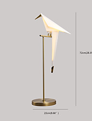 3W  Modern/Contemporary Desk Lamp  Feature for LED  with Gold Use On/Off Switch Switch