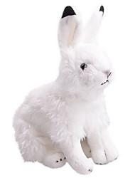abordables -Rabbit Animaux en Peluche Kit de Maquette Artisanal réaliste Animaux Simulation Articles d'ameublement 100% Coton Cadeau