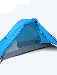 3-4 personnes Accessoires de tente Double Tente de camping Une pièce Tente pliable Etanche Respirable Tente A l'Epreuve du Vent pour