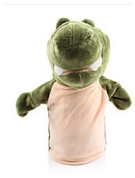economico -giocattoli farciti Marionetta da dito Giocattoli Anatra Cavallo A pelle di coccodrillo Leone Pecora Zebra Scimmia Animali In cotone Per