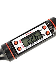 Digital Screen Thermometer Tester for Cooking (Black Color)
