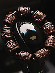 abordables -Diy pendentifs automobiles pendentifs bijoux en bouddha de style chinois bodhi&Ornements boisés