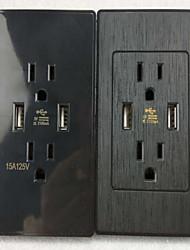 Sorties électriques PP Avec prise USB Charger 5*3.5*2