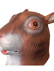 cheap -Halloween Masks Animal Mask Toys Squirrel Latex Rubber Glue Horror Pieces Unisex Gift