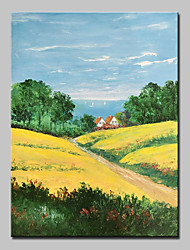 Big Size Hand Painted Landscape Oil Painting On Canvas Wall Art Picture For Home Decor No Frame