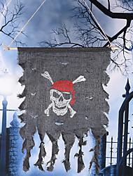 Accessoires de Halloween drapeau pirate décoration de fête drapeau pirate fantôme crâne festival ornements accessoires de fête