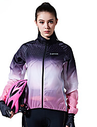 cheap -SANTIC Cycling Jacket Women's Bike Top Bike Wear Windproof Geometric Recreational Cycling Cycling / Bike Mountain Bike/MTB