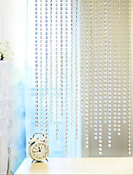 5-Meter Long Acrylic Bead String/Wedding Decoration / 14Mm - Crystal Transparent Octagonal Bead Curtain
