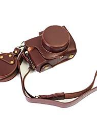 Недорогие -Dengpin кожаная сумка для чехла для olympus e-pl8 epl8 14-42ez объектив (различные цвета)